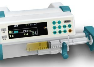 Stackable syringe pump with drug library CS800Y